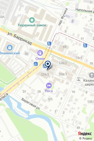 Бакалея на карте Иркутска