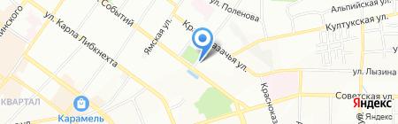 Маргаритка на карте Иркутска