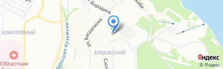 Перспектива на карте Иркутска