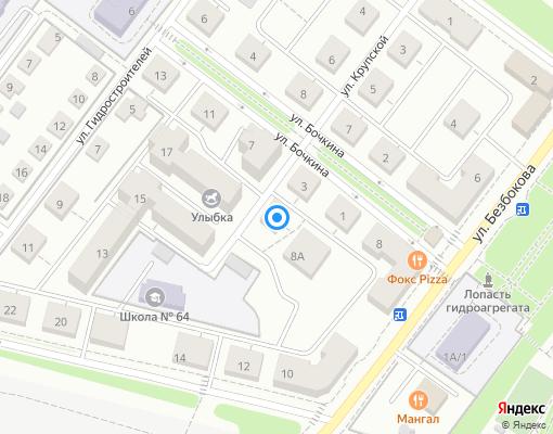 Товарищество собственников жилья «Бочкина, 7» на карте Иркутска