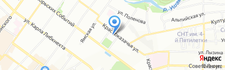 Юрист на карте Иркутска