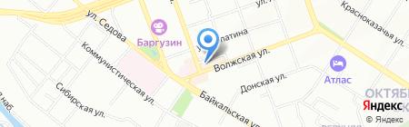 Банкомат ФИНАНСОВАЯ КОРПОРАЦИЯ ОТКРЫТИЕ на карте Иркутска