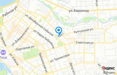 Местоположение на карте пункта техосмотра по адресу г Иркутск, ул Декабрьских Событий, д 107А