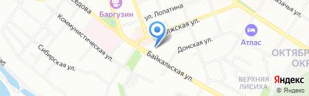 Иркутский энергетический учебно-методический центр на карте Иркутска