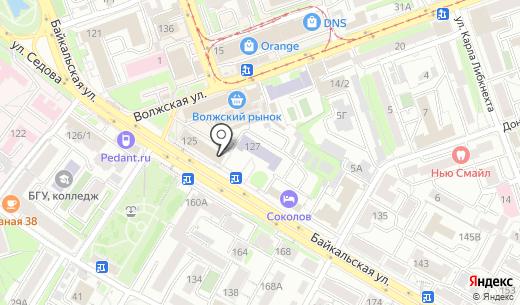 Иркутский энергетический учебно-методический центр. Схема проезда в Иркутске