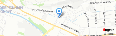 Детский сад №31 на карте Иркутска