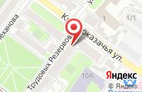 Схема проезда до компании Фудлайн в Иркутске