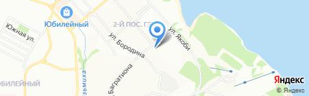Средняя общеобразовательная школа №46 на карте Иркутска
