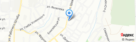 Биозащита на карте Иркутска