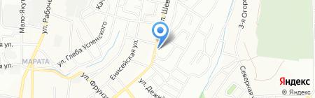 ИрВент на карте Иркутска