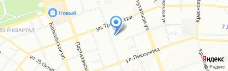 Гимназия №44 на карте Иркутска