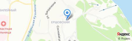Глаукс на карте Иркутска