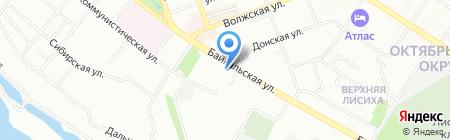 Gold Leon на карте Иркутска