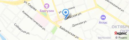 Иркутский техникум экономики и права на карте Иркутска