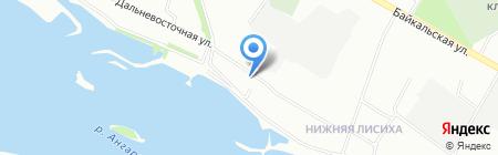 Раскрась Небо на карте Иркутска