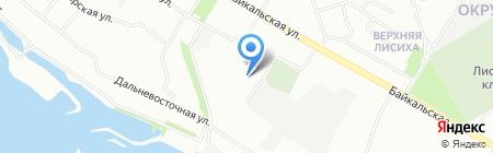 Автомобильная скорая помощь на карте Иркутска