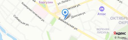 МашПромСервис на карте Иркутска