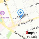 Иркутская таможня на карте Иркутска
