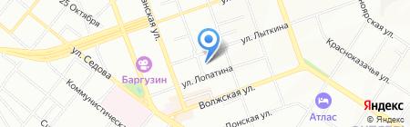 Репроцентр А1 на карте Иркутска