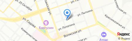 Нотариус Смирнова М.П. на карте Иркутска