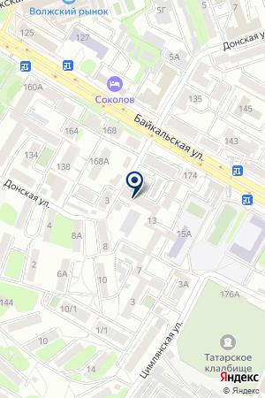 АЗС НЬЮ-ЛЕН-ОЙЛ на карте Иркутска