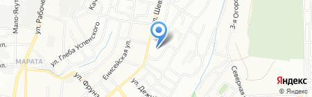 Фиеста на карте Иркутска