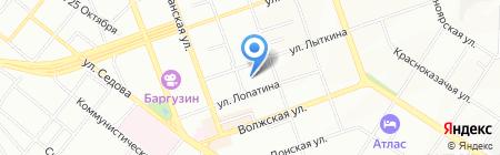 Easy Lash на карте Иркутска