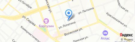 АРК на карте Иркутска