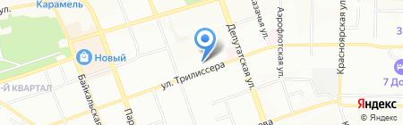 Иркутскзверопром на карте Иркутска