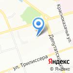 Отдел МВД России по Иркутскому району на карте Иркутска