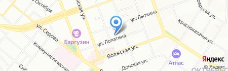 Учебно-производственный центр на карте Иркутска
