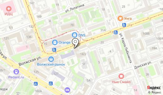 Сеть магазинов. Схема проезда в Иркутске