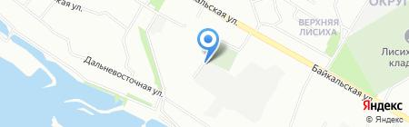 Автогаражный кооператив №28 на карте Иркутска