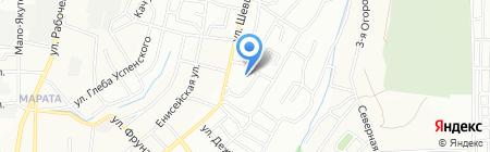 ТехЭлектроСнаб на карте Иркутска