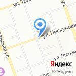 Шиномонтаж75 на карте Иркутска