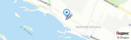 СК ИРСО на карте Иркутска