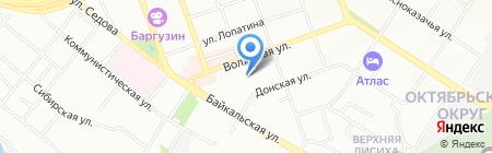 New Life Car на карте Иркутска