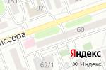 Схема проезда до компании БайкалЭкоМебель в Иркутске