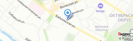 Все для любви на карте Иркутска