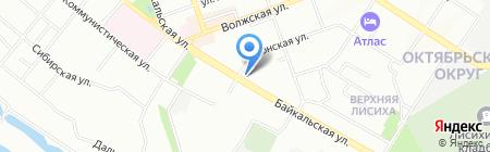 Irknet Telecom на карте Иркутска