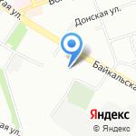 Средняя общеобразовательная школа №39 на карте Иркутска