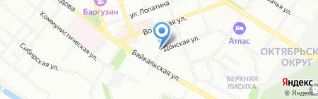 Мax Автоэлектроника на карте Иркутска