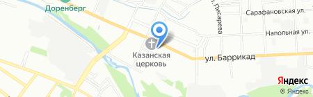 Средняя общеобразовательная школа №8 им. Д.Г. Сергеева на карте Иркутска