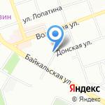 АСК на карте Иркутска