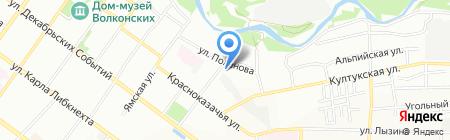 Оргсервис на карте Иркутска
