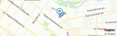 Сити-Сервис на карте Иркутска