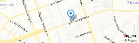 Умные игрушки на карте Иркутска