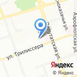 Фристайл на карте Иркутска