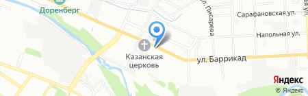 Добрыня на карте Иркутска