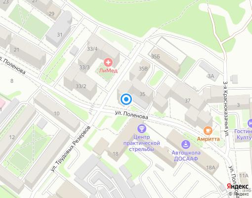 Товарищество собственников жилья «Дорожник» на карте Иркутска